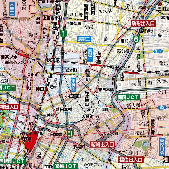 方位地図画像サンプル解像度確認用